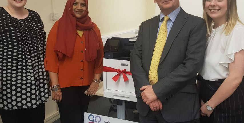 New printer for Law Centre